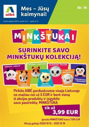 AIBĖ - Leidinys Nr.19 (2020 10 15 - 2020 10 27)