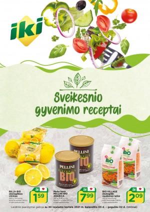 IKI - Sveikesnio gyvenimo receptai (2021 04 05 - 2021 05 02)