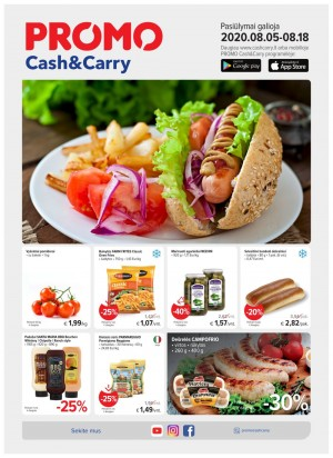 PROMO Cash&Carry (2020 08 05 - 2020 08 18)
