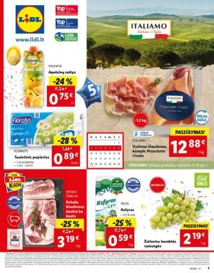 LIDL - Maisto prekių pasiūlymai (2021 05 03 - 2021 05 09)