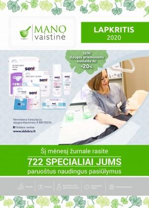 MANO VAISTINĖ (2020 11 01 - 2020 11 30)
