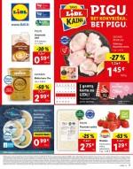 LIDL - Maisto prekių pasiūlymai (2021 04 12 - 2021 04 18)